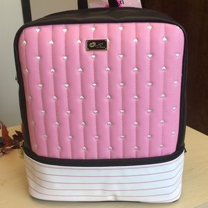 Betsey Johnson pink backpack NWT